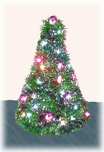 Coat Hanger Christmas Tree  Free Craft Project