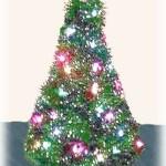 Coat Hanger Christmas Tree