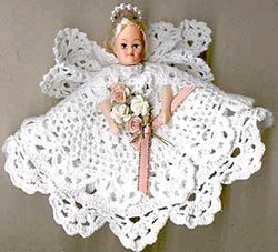 doily angel craft