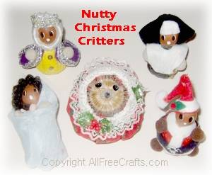 nutty christmas critters