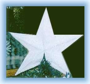 paper glitter star