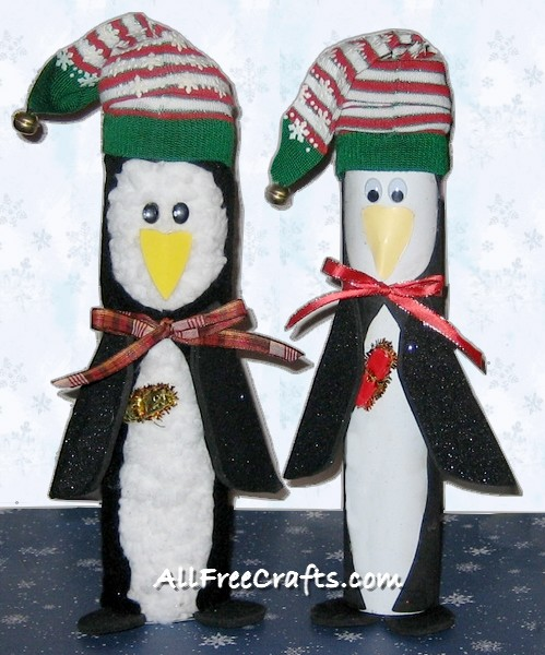 Crafts Made From Paper Towel Rolls: Paper Towel Roll Penguins