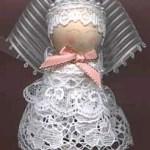 Ribbon Lace Angel