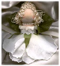 silk rose angel