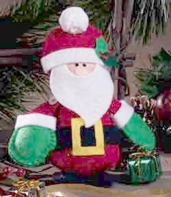 Felt Santa Ornament