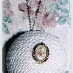Satin Pearl Ornament
