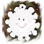 Craft Foam Snowflake