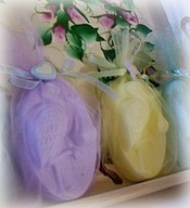 homemade baby shower soaps