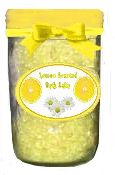 lemon scented bathsalts