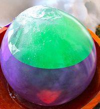 ice balloon reveal