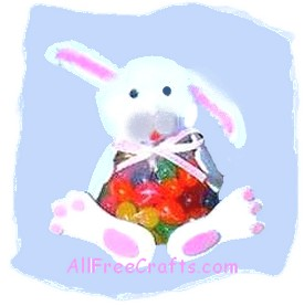 jelly bean bag bunny