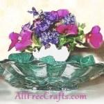 Eggshell Posy Vase