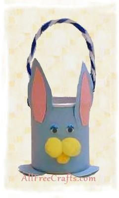 pringle can bunny