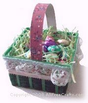 Easter berry basket