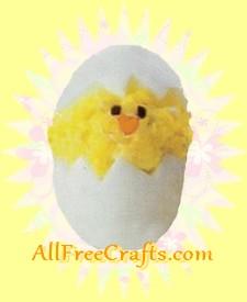 deviled egg Easter chick