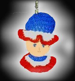 crocheted light chain pull