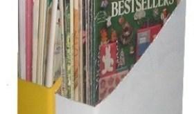 recycled magazine holder