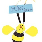 Bee Door Hanger