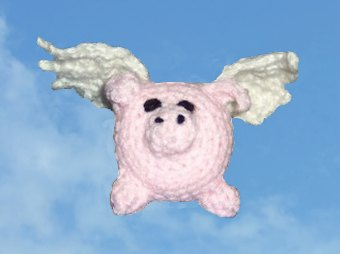 Free Winged Pig Crochet Pattern