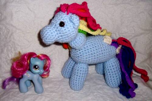 crochet my pony pattern