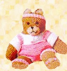 teddy bear exercise outfit