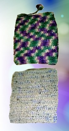 crocheted book sox pattern