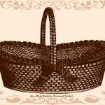 straw work basket