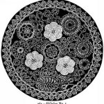 Beeton's crocheted doily