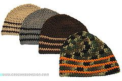 boy's beanie hat crochet pattern