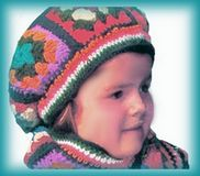 Free Granny Square Hat Pattern for Children 4125ea1df10