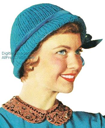 quick tricks knitted hat