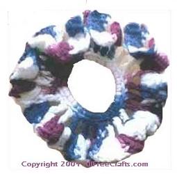 tulip scrunchie