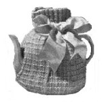 vintage knitted teapot cosy