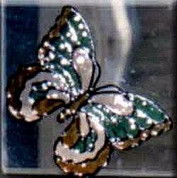 butterfly window cling