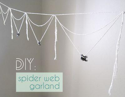 cobweb garland