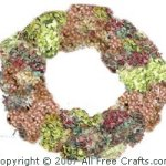 Homemade Dried Hydrangea Wreath