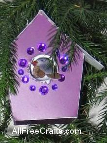 purple bling house