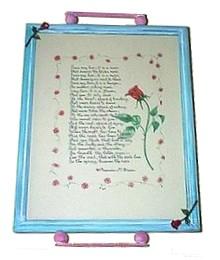 document frame tray
