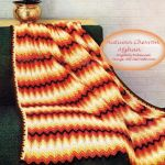 Autumn Chevron Afghan