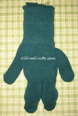 knit glove doll body without stuffing
