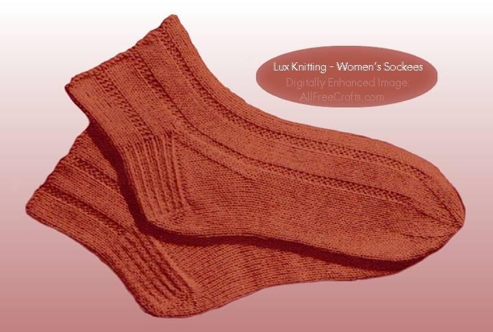 Free Knitting Pattern for Women\'s Socks