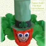 Top Hat Paper Roll Leprechaun