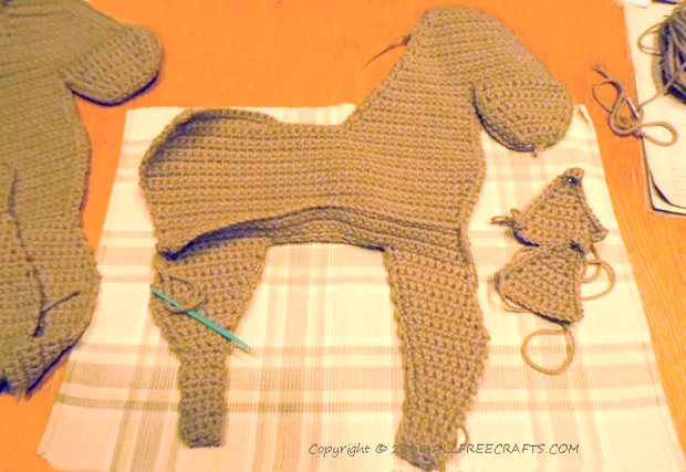 Crocheted Horse All Free Crafts