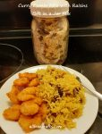 curry cumin rice with raisins jar mix