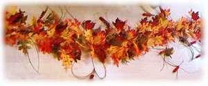 leaves garland