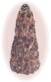pine cone berry tree