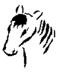 horse-outline