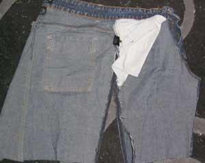 denim skirt pattern 1925