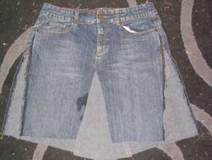 denim skirt pattern 1929
