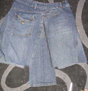 denim skirt pattern 1939